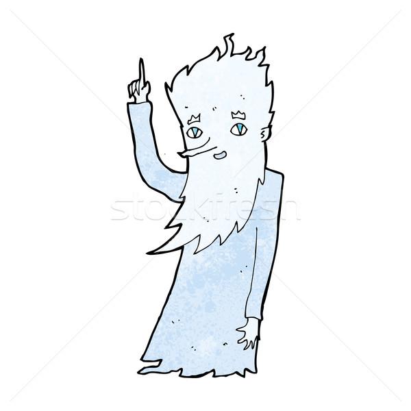 Gelo cartoon mano design inverno Crazy Foto d'archivio © lineartestpilot