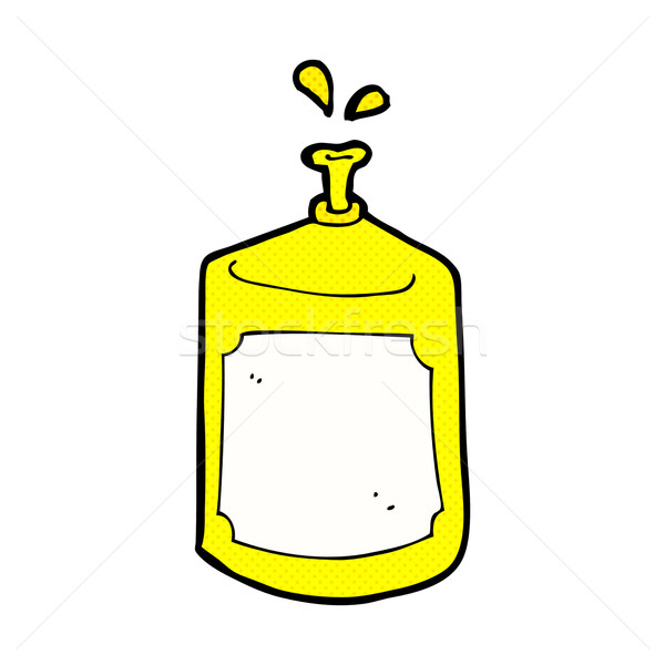 comic cartoon squirting bottle Stock photo © lineartestpilot