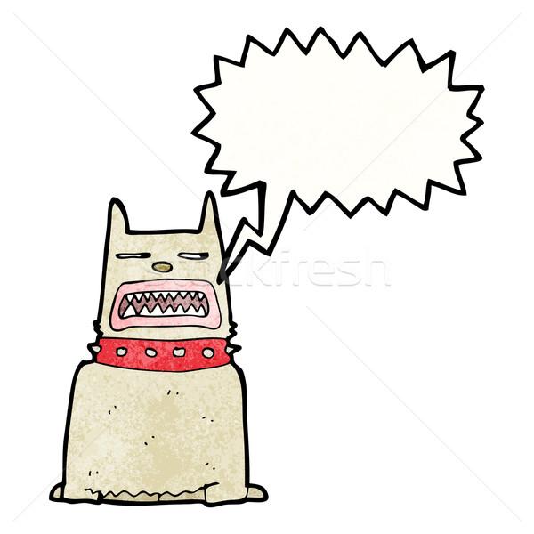 barking dog cartoon Stock photo © lineartestpilot