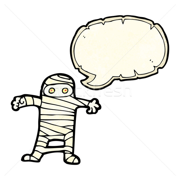 cartoon mummy Stock photo © lineartestpilot