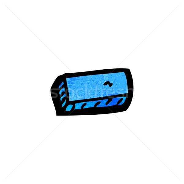 Cartoon odejmowanie symbol mowy szkic cute Zdjęcia stock © lineartestpilot