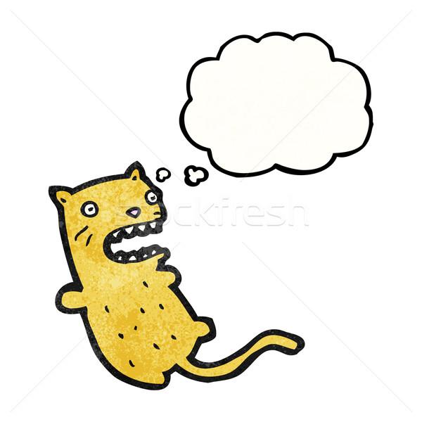 funny cartoon cat Stock photo © lineartestpilot