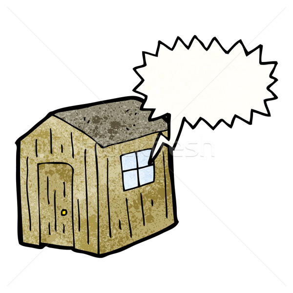 cartoon shed Stock photo © lineartestpilot