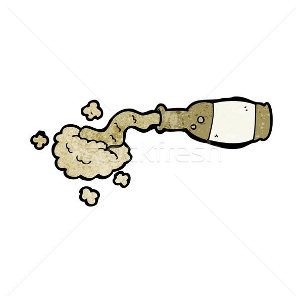 cartoon spilled beer Stock photo © lineartestpilot