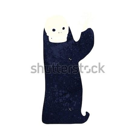 Cartoon halloween design art rétro drôle Photo stock © lineartestpilot