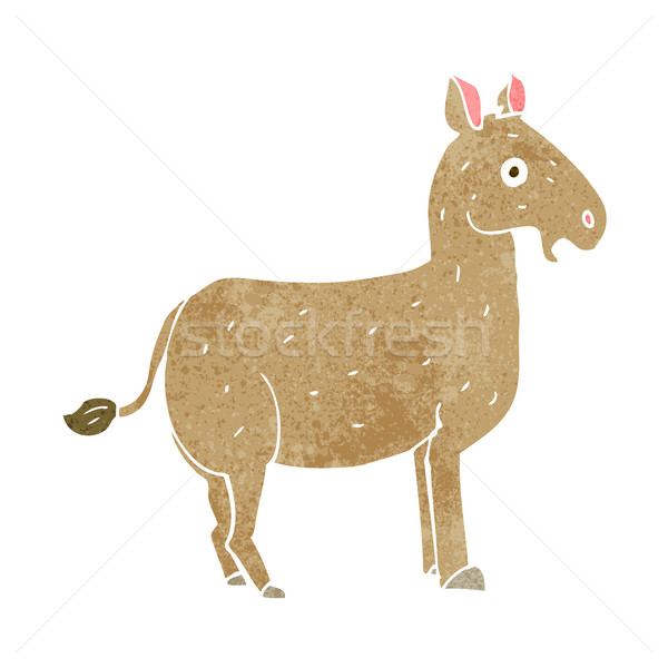 cartoon mule Stock photo © lineartestpilot