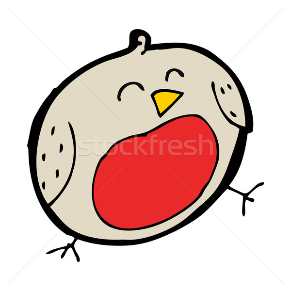 cartoon robin Stock photo © lineartestpilot