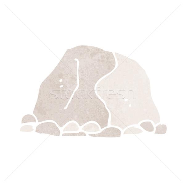cartoon large rock Stock photo © lineartestpilot