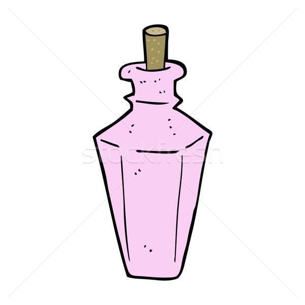 Rajz parfüm illat üveg terv művészet Stock fotó © lineartestpilot