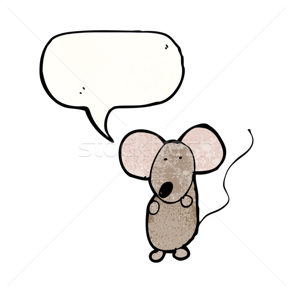 child's drawing of a mouse Stock photo © lineartestpilot