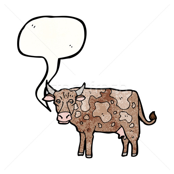 cartoon cow Stock photo © lineartestpilot