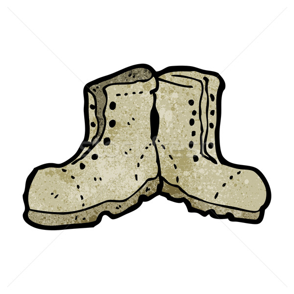cartoon old boots Stock photo © lineartestpilot