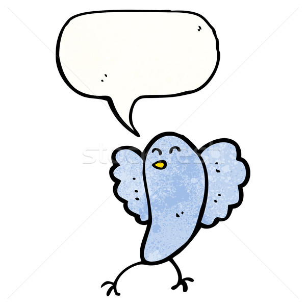 cartoon bluebird Stock photo © lineartestpilot