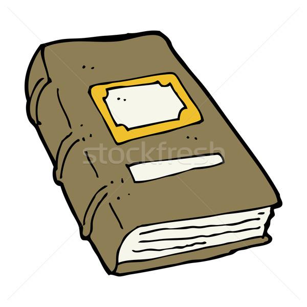 cartoon old book Stock photo © lineartestpilot