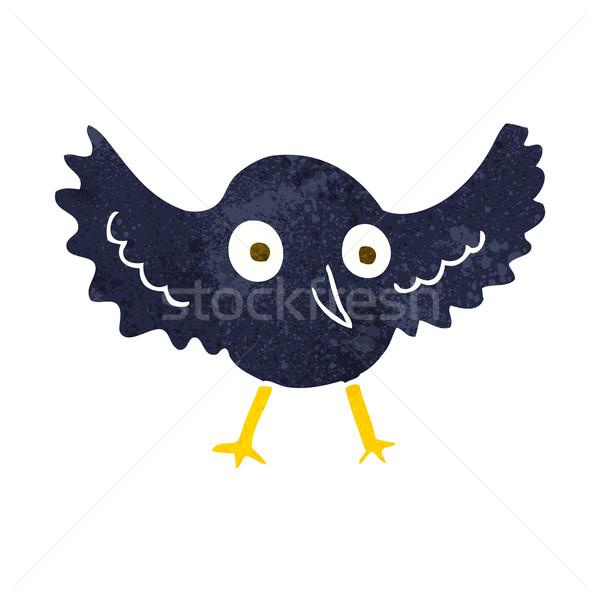 cartoon crow Stock photo © lineartestpilot