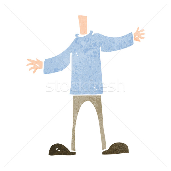 cartoon body (mix and match cartoons or add your own photo head) Stock photo © lineartestpilot