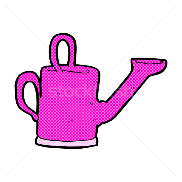 watering can comic cartoon Stock photo © lineartestpilot