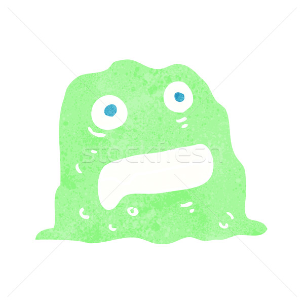 cartoon slime creature Stock photo © lineartestpilot