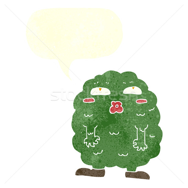 Сток-фото: смешные · Cartoon · монстр · речи · пузырь · стороны · дизайна