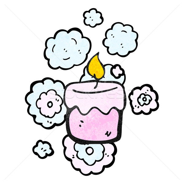 scented candle cartoon Stock photo © lineartestpilot