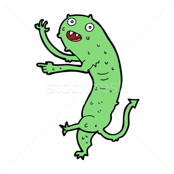 cartoon gross little monster Stock photo © lineartestpilot