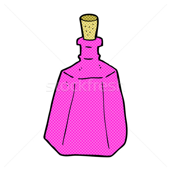 comic cartoon potion bottle Stock photo © lineartestpilot