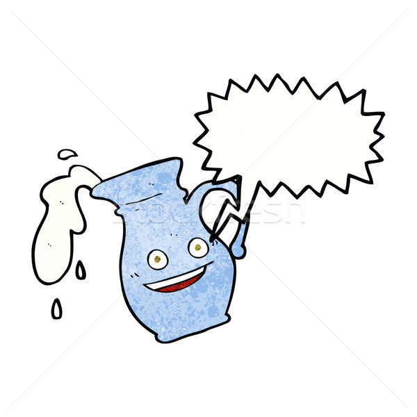 Cartoon fumetto mano design latte Foto d'archivio © lineartestpilot
