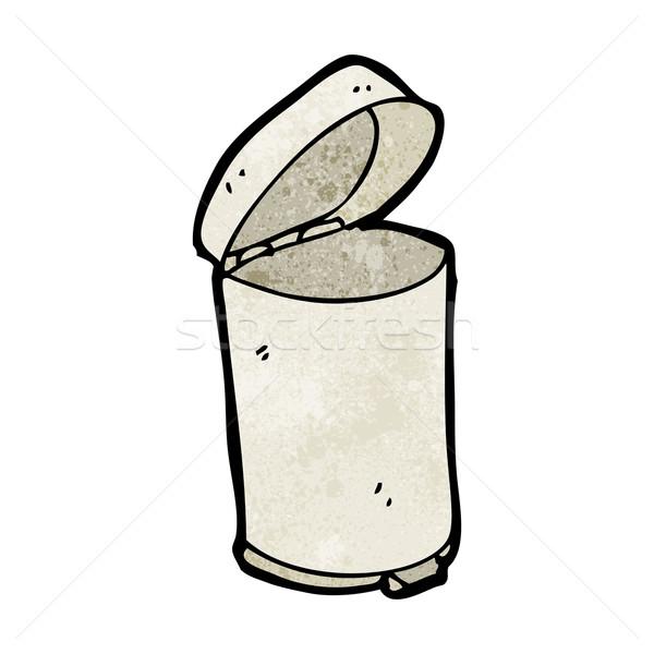 cartoon rubbish bin Stock photo © lineartestpilot