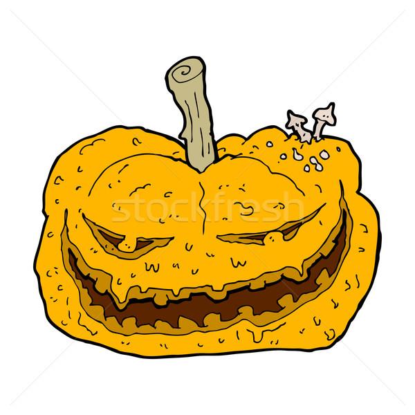 cartoon halloween pumpkin Stock photo © lineartestpilot
