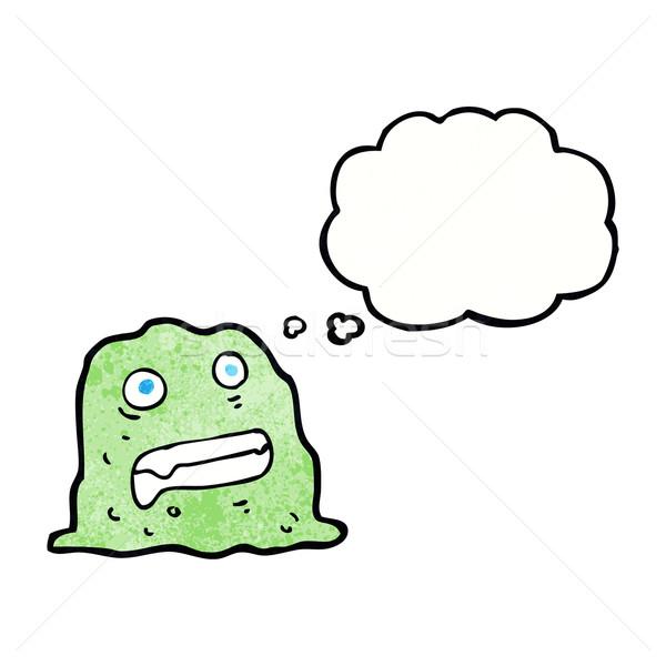 漫画 スライム 思考バブル 手 デザイン ストックフォト © lineartestpilot