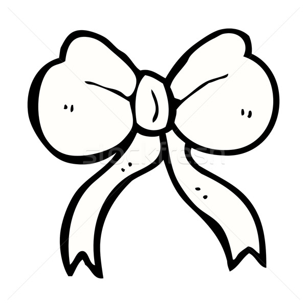 comic cartoon bow tie Stock photo © lineartestpilot