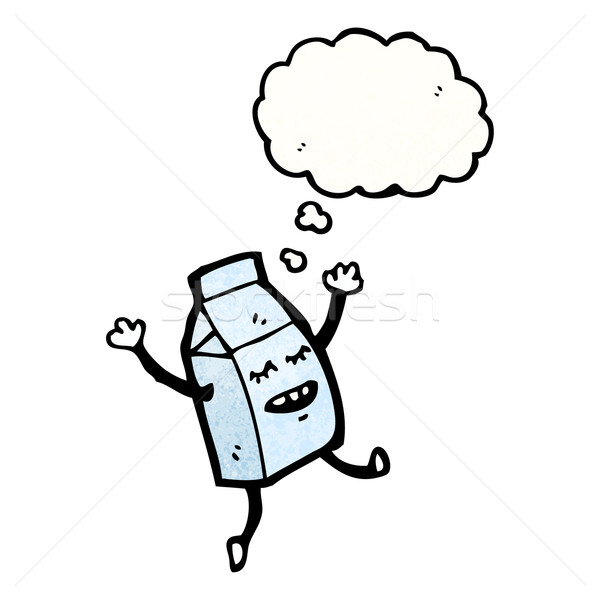 cartoon milk carton Stock photo © lineartestpilot