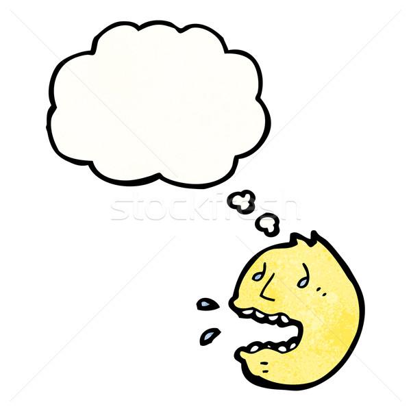 パニック 顔 シンボル にログイン レトロな バルーン ストックフォト © lineartestpilot