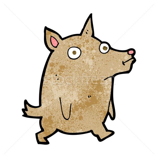 cartoon funny little dog Stock photo © lineartestpilot