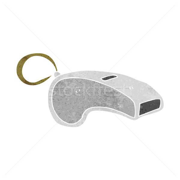 cartoon whistle Stock photo © lineartestpilot