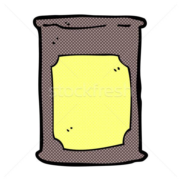 comic cartoon oil barrel Stock photo © lineartestpilot