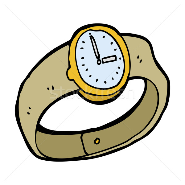 cartoon wrist watch Stock photo © lineartestpilot