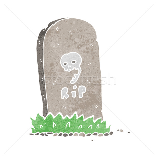 cartoon spooky grave Stock photo © lineartestpilot