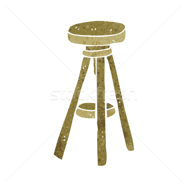 cartoon stool Stock photo © lineartestpilot