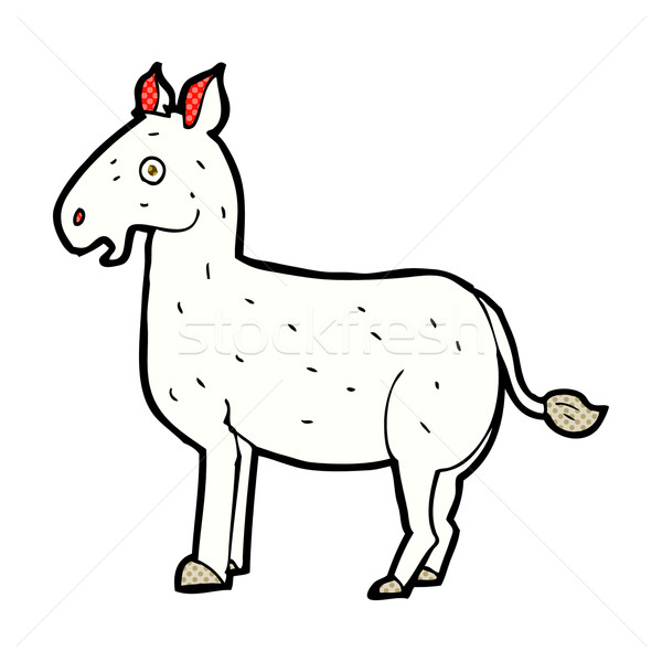 comic cartoon mule Stock photo © lineartestpilot