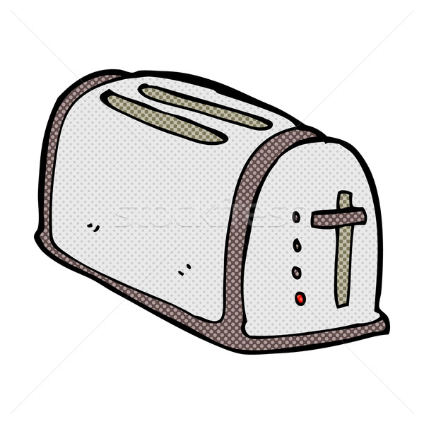 comic cartoon toaster Stock photo © lineartestpilot