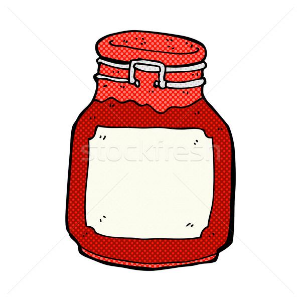 comic cartoon jam preserve Stock photo © lineartestpilot