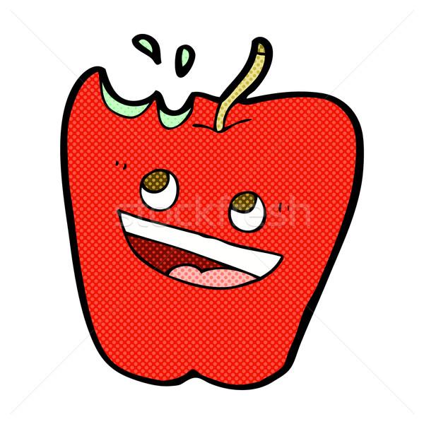 Boldog alma képregény rajz retro képregény Stock fotó © lineartestpilot