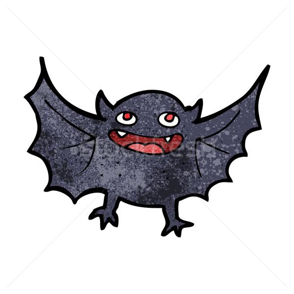 漫画 吸血鬼 バット デザイン 芸術 レトロな ストックフォト © lineartestpilot
