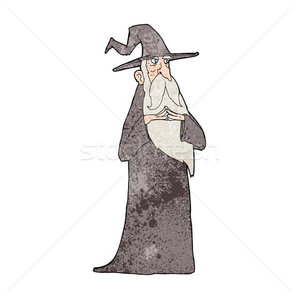 cartoon old wizard Stock photo © lineartestpilot