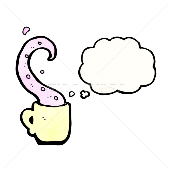 cartoon teacup tentacle Stock photo © lineartestpilot
