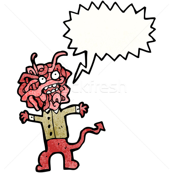 cartoon gross monster Stock photo © lineartestpilot