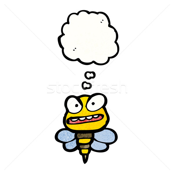 angry bee cartoon Stock photo © lineartestpilot
