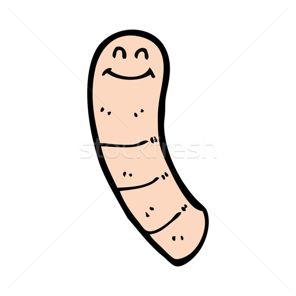 cartoon worm Stock photo © lineartestpilot