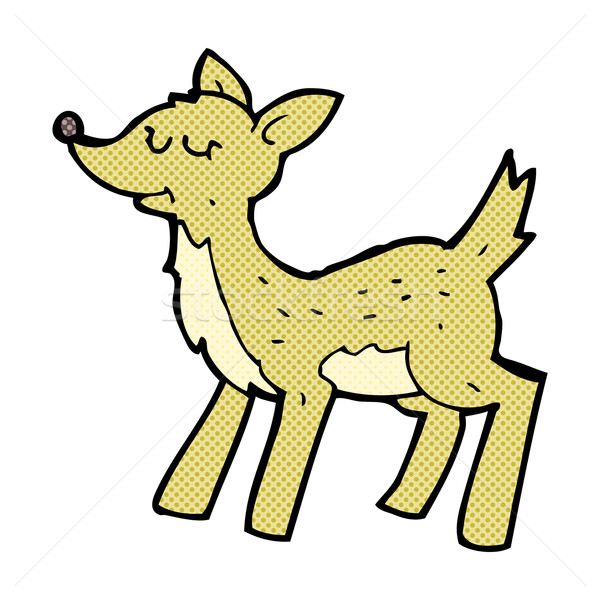 cute comic cartoon deer Stock photo © lineartestpilot
